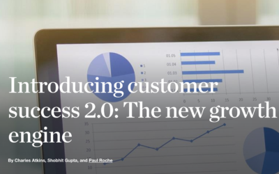 Customer Success 2.0 – The New Growth Engine